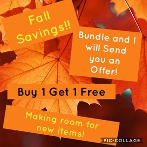 Bundle for Fall savings
